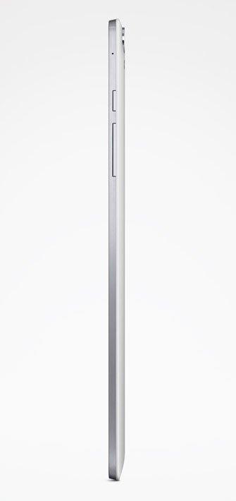 HTC Nexus 9 сбоку