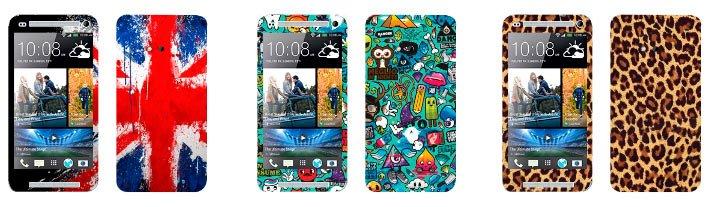 Виниловые наклейки для HTC One